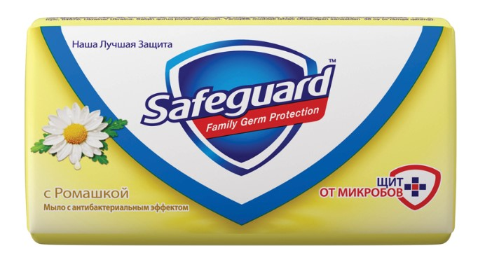Мыло SAFEGUARD Ромашка 90г